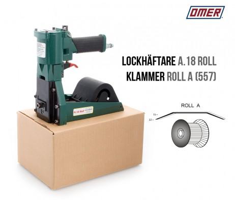 Lockhäftare A.18 Roll Pneumatisk Klammer A eller 557 Kartonghäftare