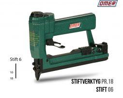 Stiftverktyg PR.18 Stiftpistol för stift 06