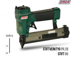 Stiftverktyg PR.28 Stiftpistol för stift 06