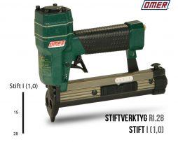 Stiftverktyg RI.28 Stiftpistol för stift I (1.0)