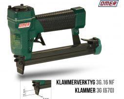 Klammerverktyg 3G.16 NF tunn nos klammer 670