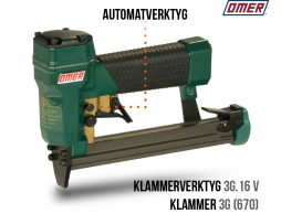 Klammerverktyg 3G.16 V automatverktyg 670