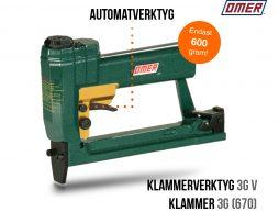 Klammerverktyg 3G V automatverktyg klammer 670