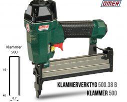 klammerverktyg 500.38 b underladdad klammer 500