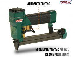klammerverktyg 80.16 v automatverktyg för klammer 680