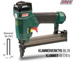 Klammerverktyg 90.28 klammer 90 eller 781