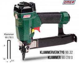Klammerverktyg 90.32 klammer 90 eller 781
