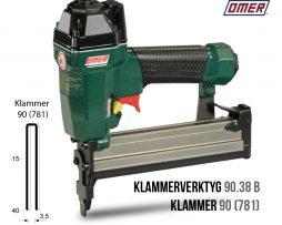 Klammerverktyg 90.38 b klammer 90 eller 781