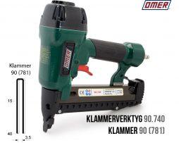 Klammerverktyg 90.740 klammer 90 eller 781