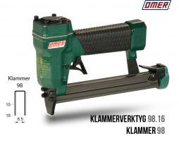 Klammerverktyg 98.16 klammer 98