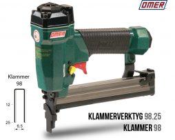 Klammerverktyg 98.25 klammer 98