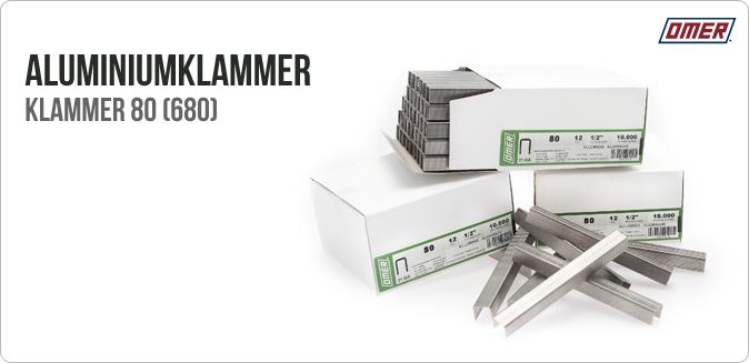 Aluminiumklammer 80 lammerverktyg 80.16