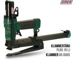 Klammertång PL 80.16 LJ för klammer 80 och 680