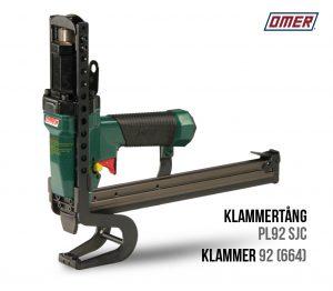 Klammertång PL 92 SJC för klammer 92 eller 664