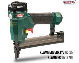 Klammerverktyg 65.25 klammer 65 eller jk779