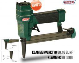 Klammerverktyg 80.16 SL NF Lång Tunn nos klammer 80